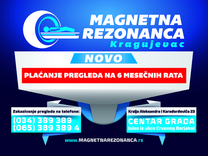 Magnetna Rezonanca – BILLBOARD RATE